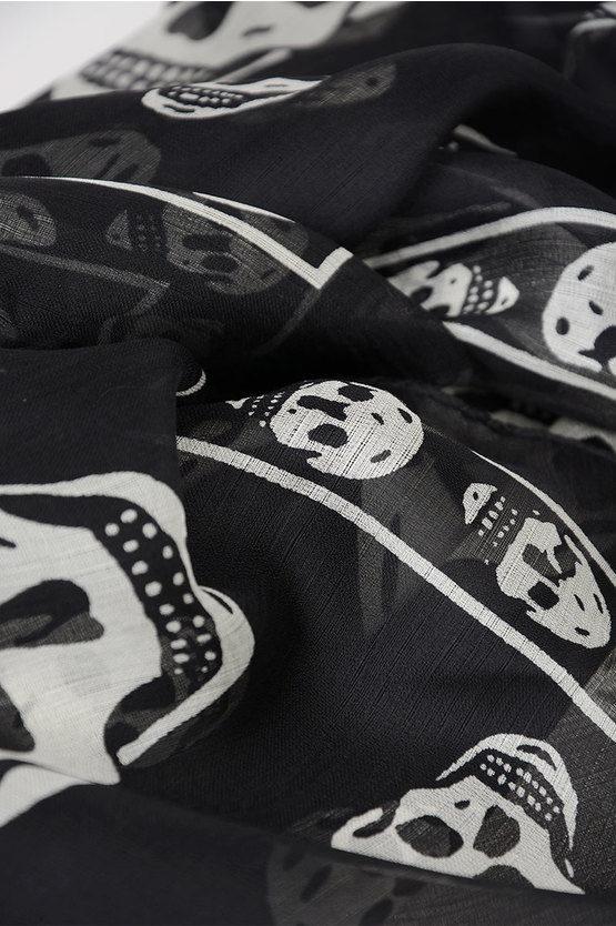 104x120cm Skull Foulard
