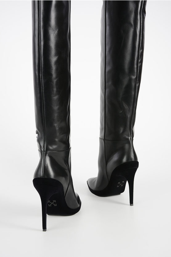 10cm Leather Boots