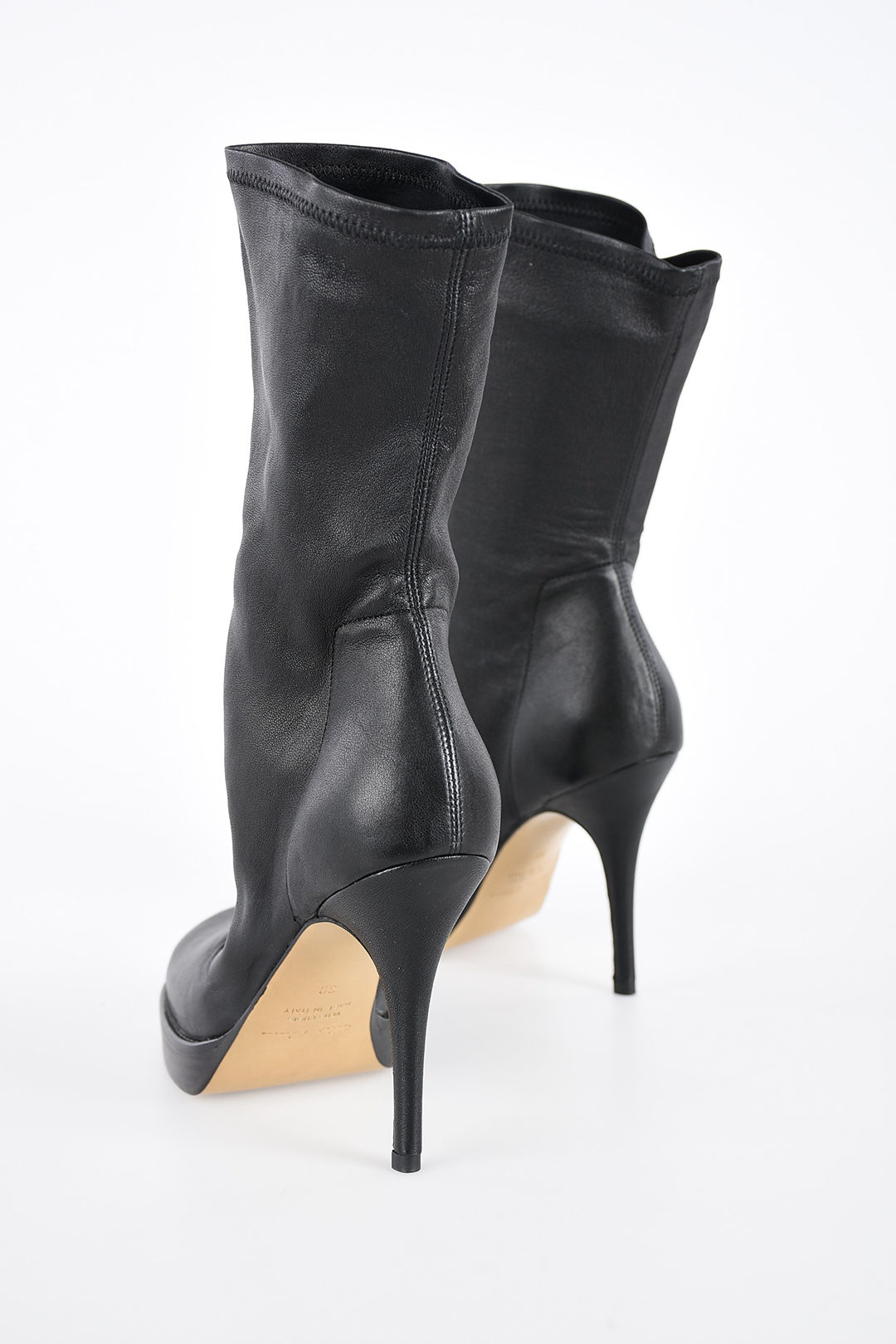 Stiletto Sock Ankle Boot