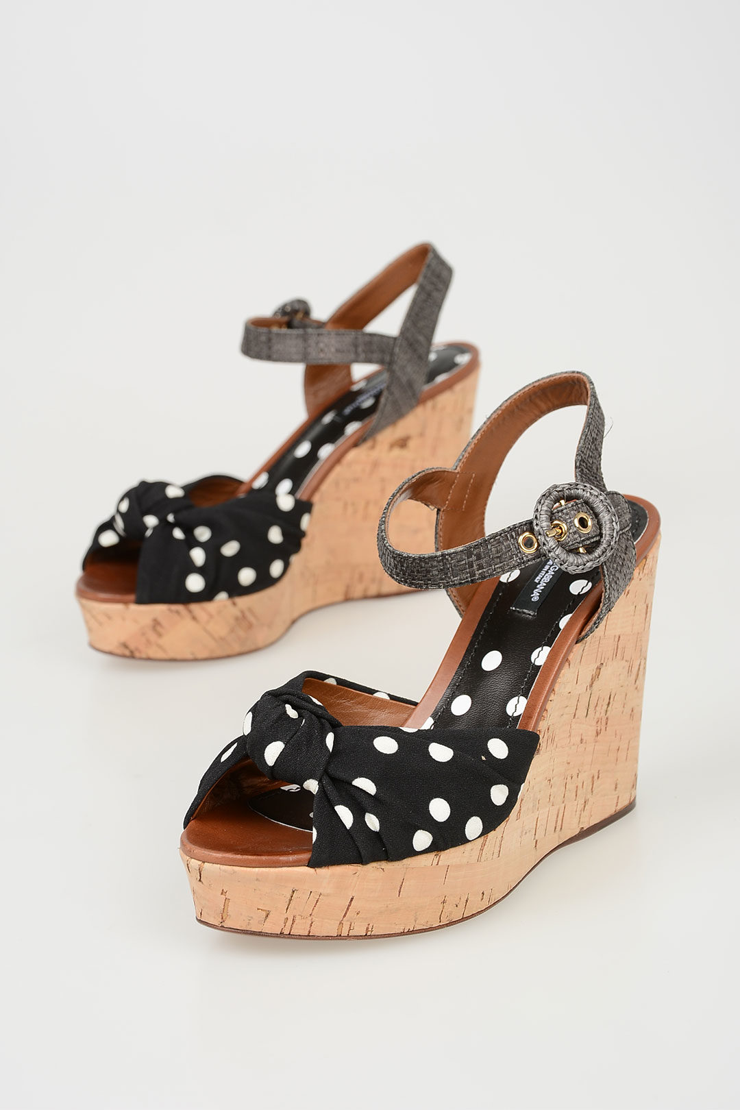 e9146ea23 Dolce   Gabbana 11cm Sandals with Dots women - Glamood Outlet
