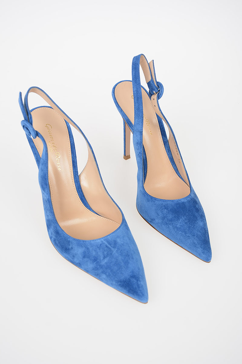 Slimbacks Glamood Women Suede Outlet Cm Anna 12 Rossi Gianvito ZTxqSXn