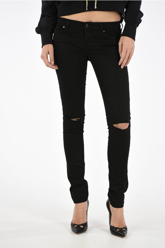 13cm Stretch Denim SKINZEE-LOW L.32 Jeans