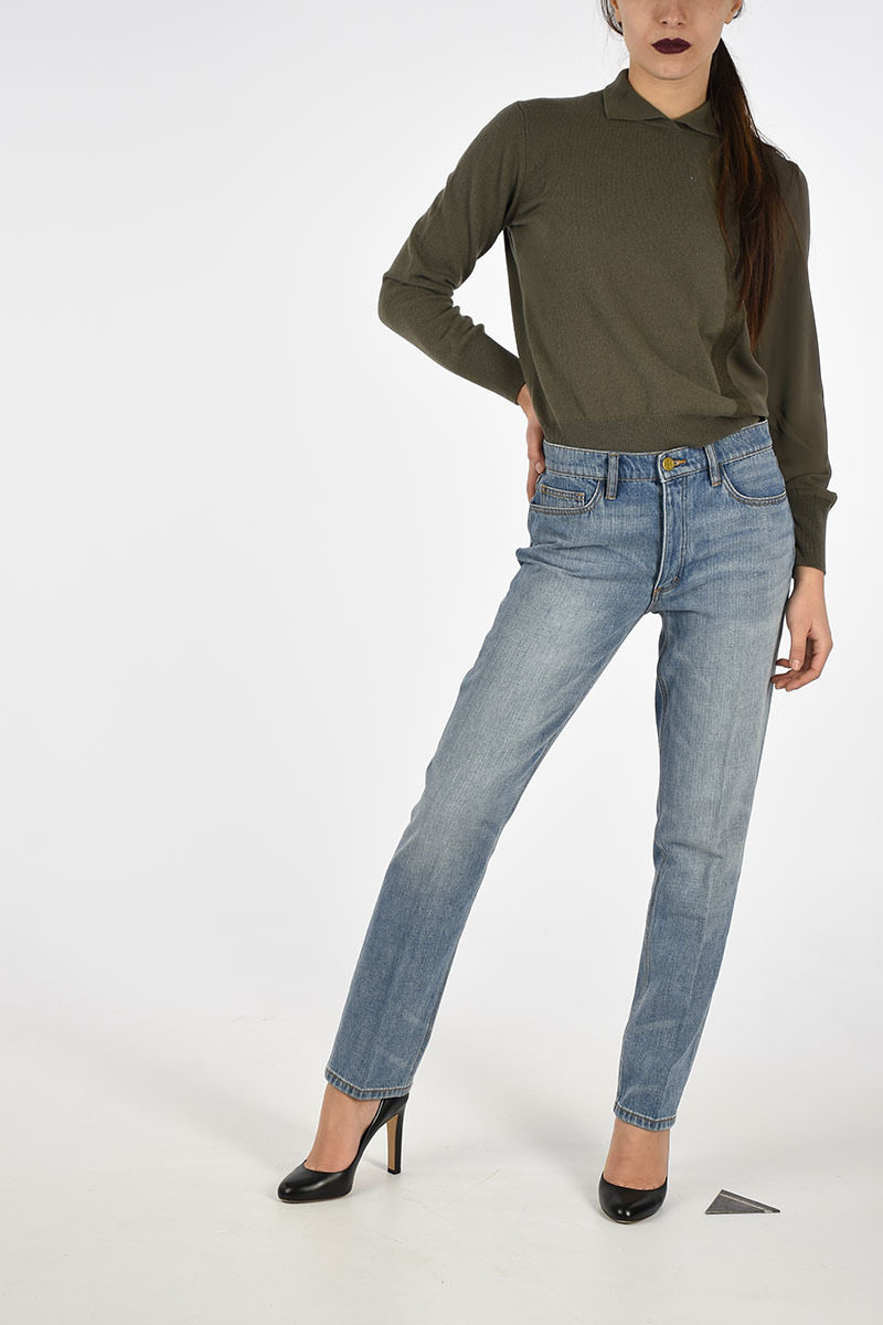 0d7703d5050 Tory Burch 15cm Embroidered Jeans women - Glamood Outlet
