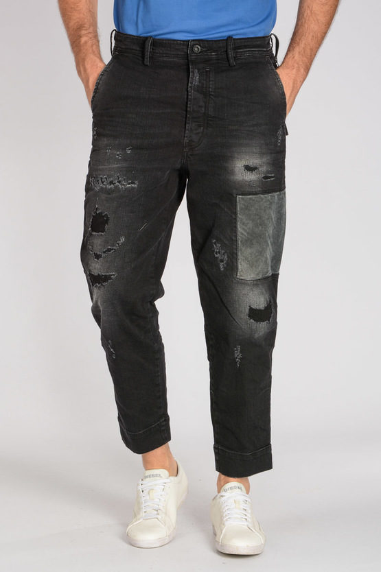 16cm Denim stretch CARROT CHINO Jeans