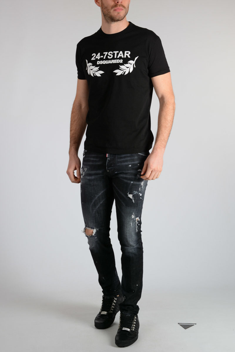 508eef0687c Dsquared2 16cm Distressed COOL GUY Jeans men - Glamood Outlet