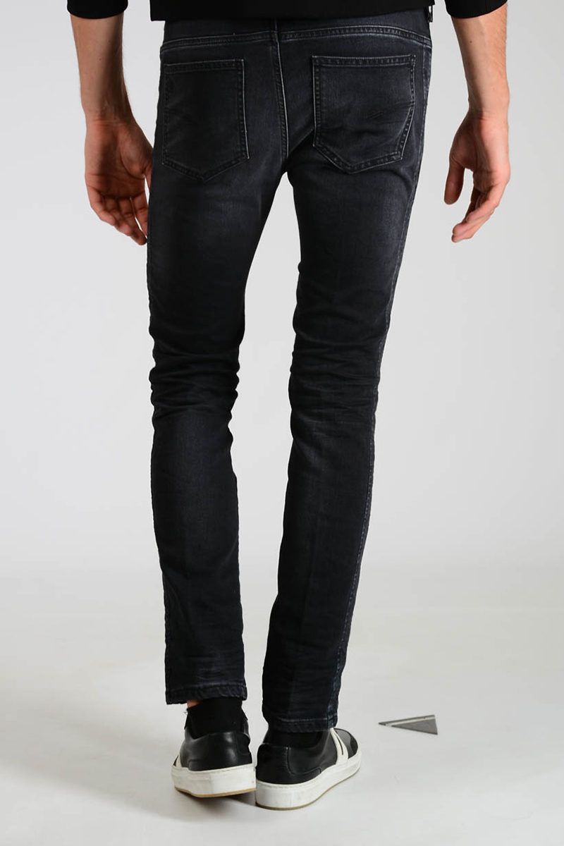 Glamood Neil Barrett men Embroidered Jeans 17cm Outlet qn8TXTSZgx