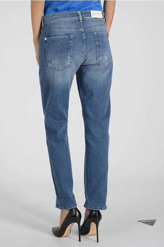 17cm Stretch Denim RELAXED SKINNY Jeans