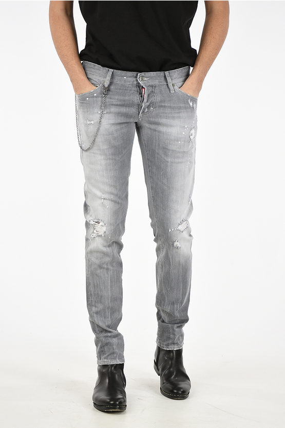 17cm Stretch Denim SLIM Jeans