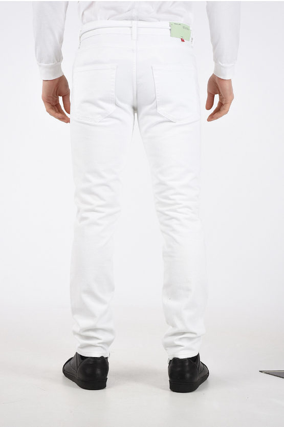 17cm Zipped Ankle Jeans