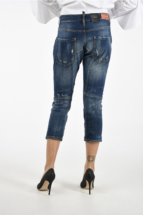 18cm Distressed ICON Jeans