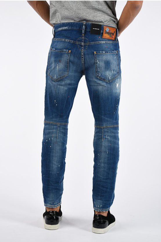 18CM Stretch Denim CITY BIKER  Jeans