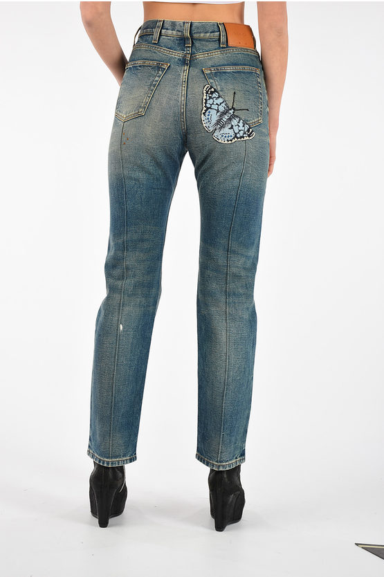 19 cm Embroidery Jeans