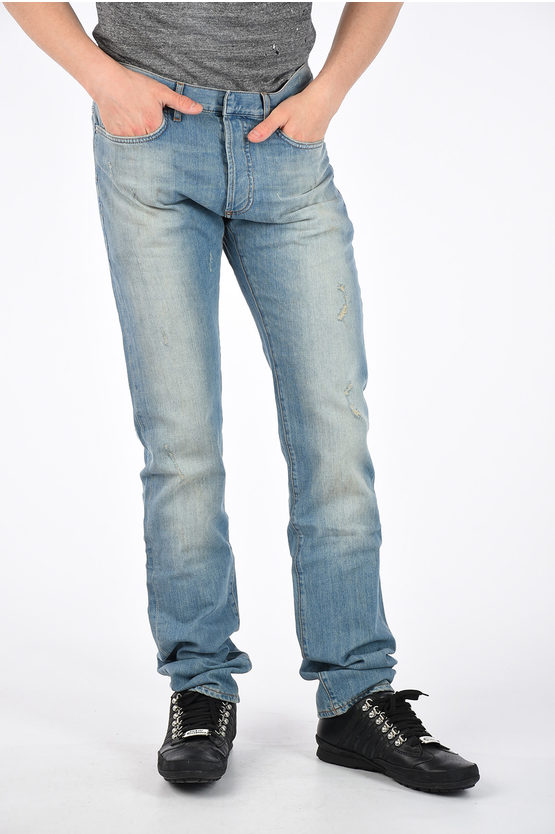 19 cm Stretch Denim Jeans