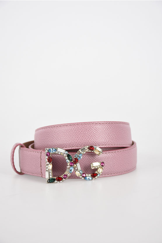 2,5cm Jewels Leather Belt