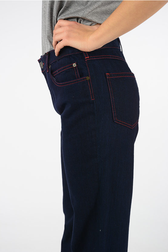 205W39NYC 21 cm Cotton Boot Cut Jeans
