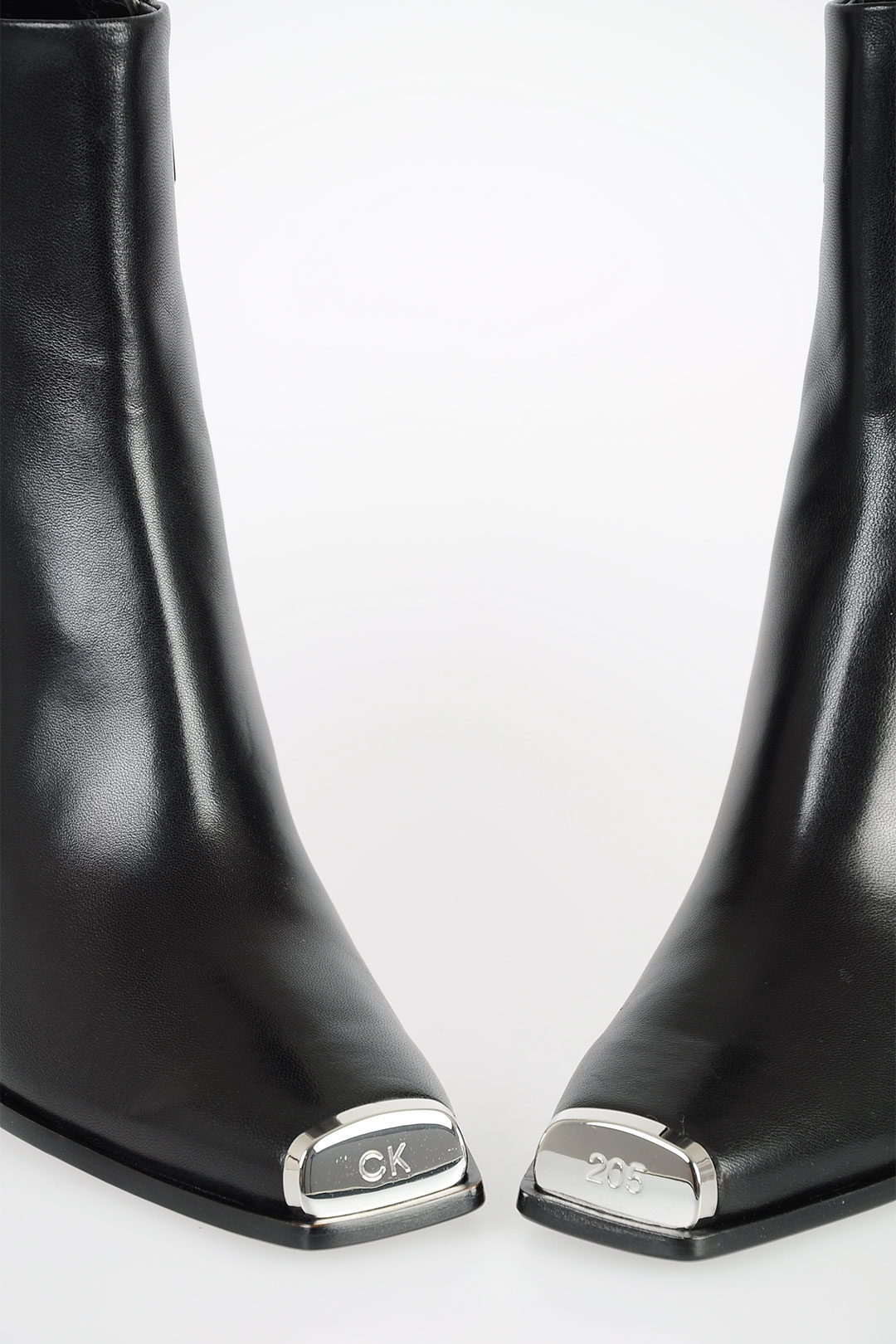 biggest discount cheap new collection Calvin Klein 205W39NYC 8cm Leather Ankle Boots women - Glamood Outlet