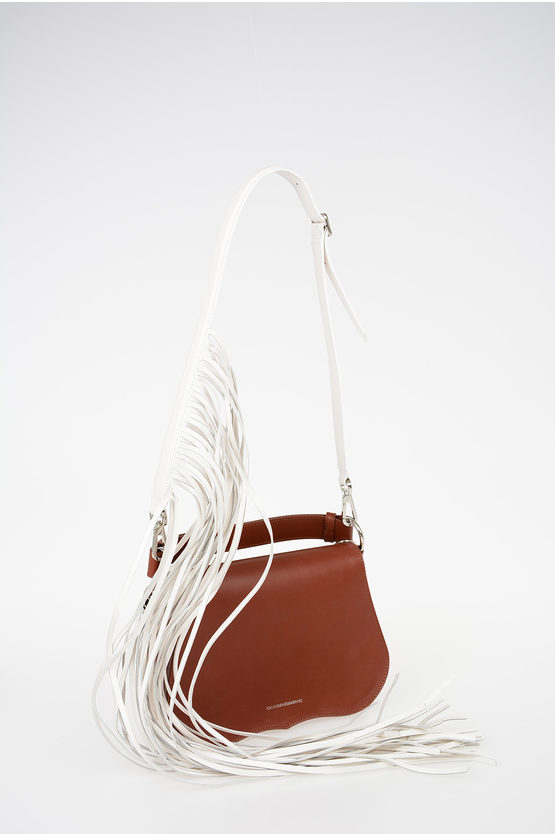 205W39NYC ANDY WARHOL Leather SMALL SHOULDER FRINGE Bag
