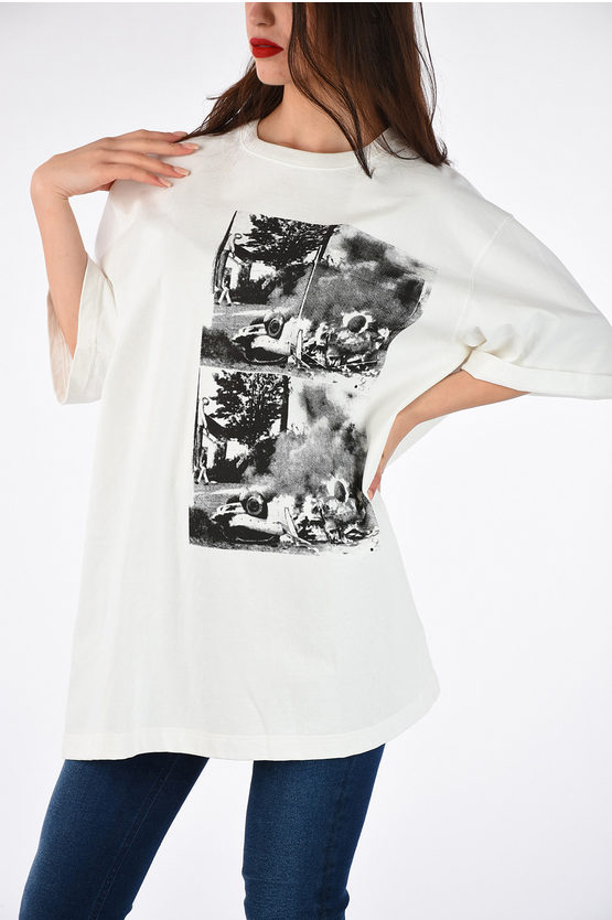 205W39NYC ANDY WARHOL Printed Oversize T-shirt