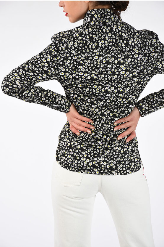 205W39NYC Blouse with Daisy