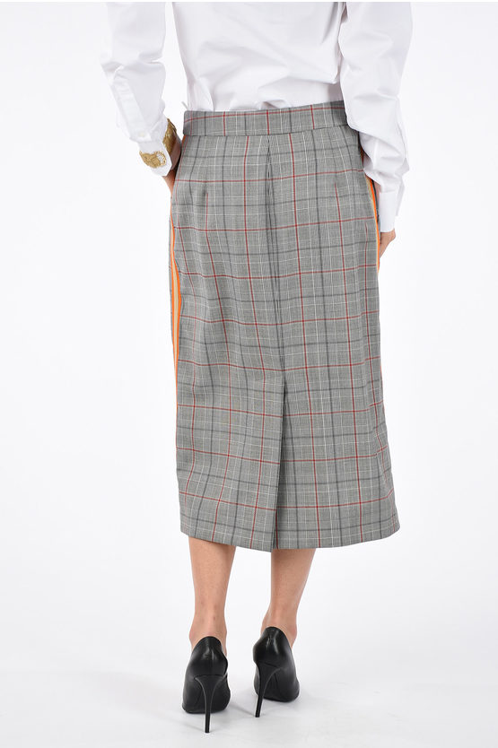 205W39NYC Checked Skirt