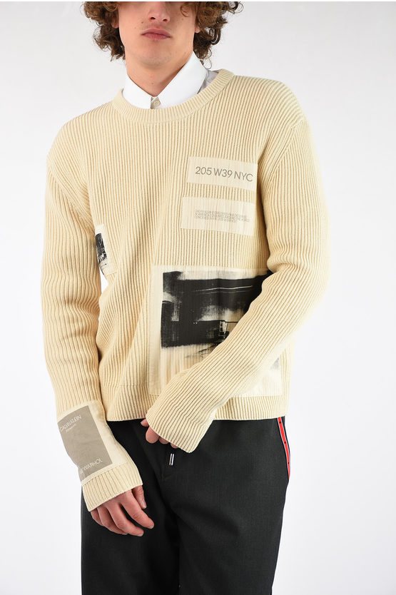 205W39NYC Cptton ANDY WARHOL Sweater