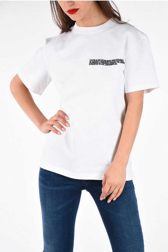 205W39NYC Embroidered T-shirt