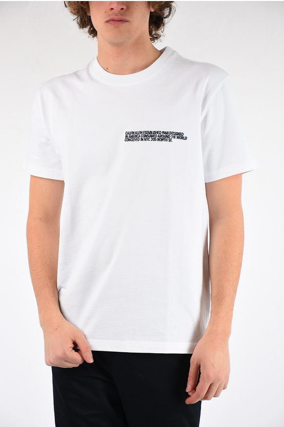 205W39NYC Embroidery T-shirt