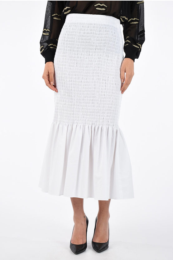 205W39NYC Frilled Skirt