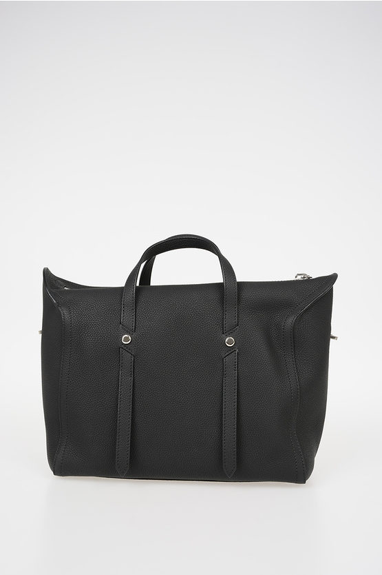 205W39NYC Leather Bowler Bag