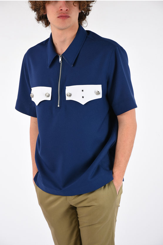 205W39NYC Short Sleeves Polo