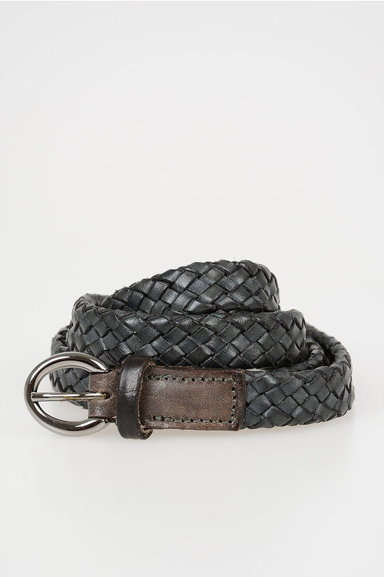 20mm Braided Leather