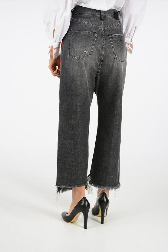 22cm Jeans with Lateral Stripe