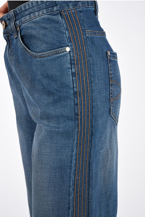 22cm Pearl Embroiderd LOOSE FIT Jeans