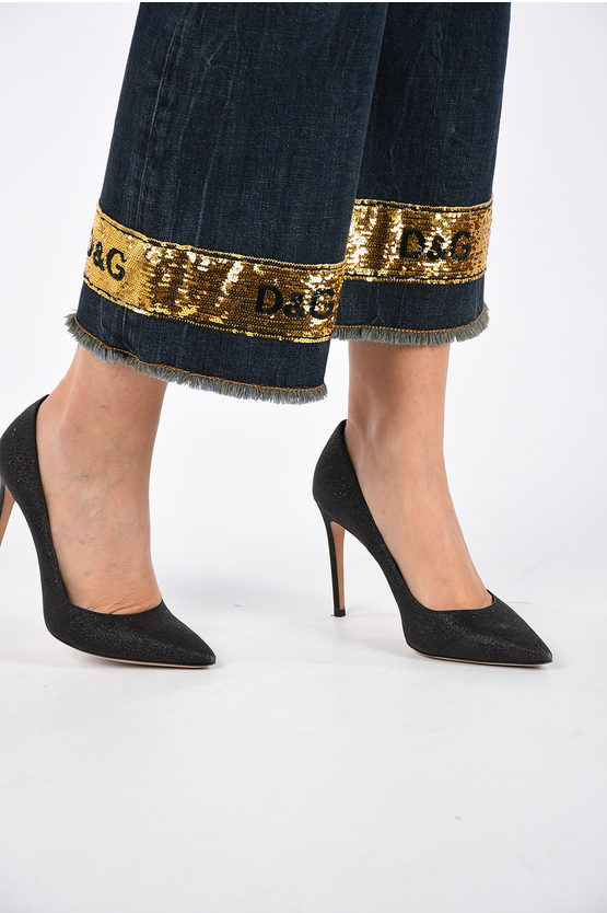 24 cm Embroidery Ankle PRETTY Jeans