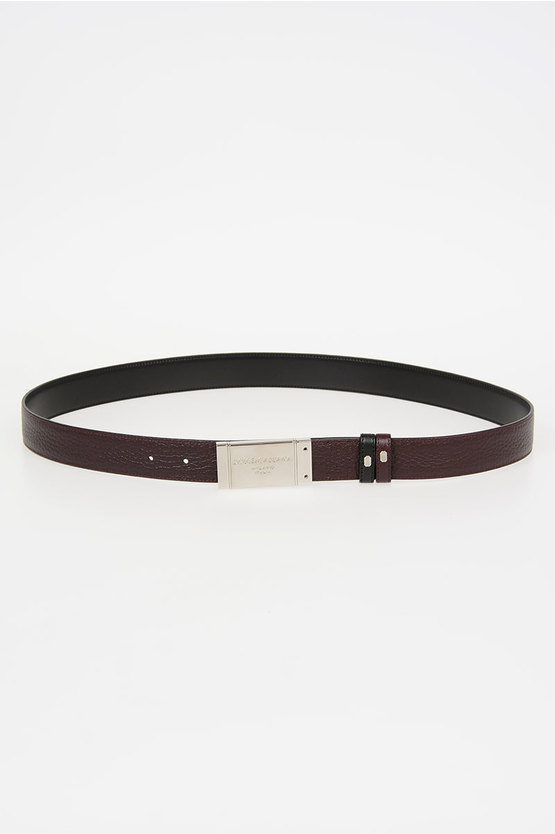 30mm Leather Reversible Belt