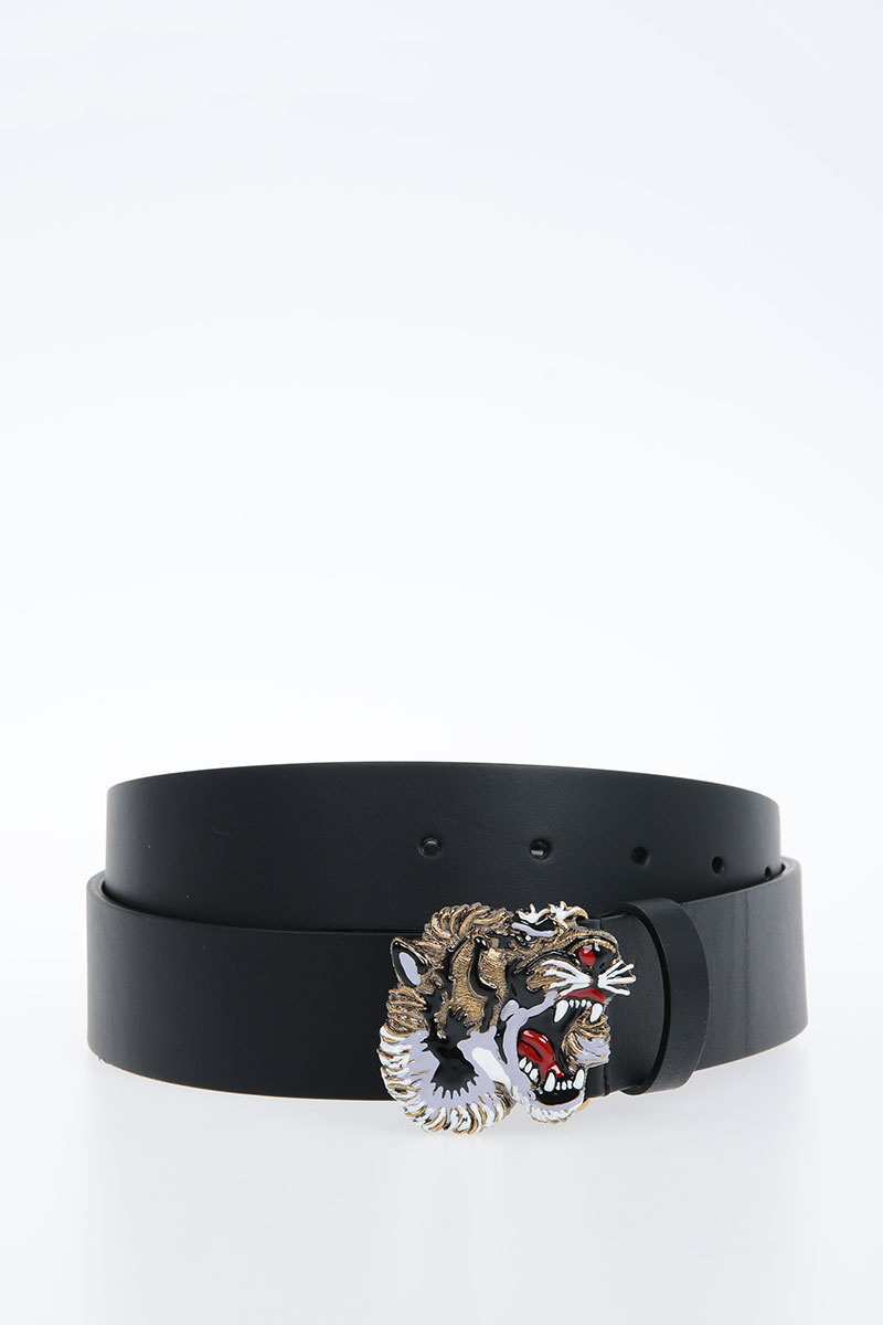 62f7b58c56e Gucci 40mm Leather Belt With tiger Buckle men - Glamood Outlet