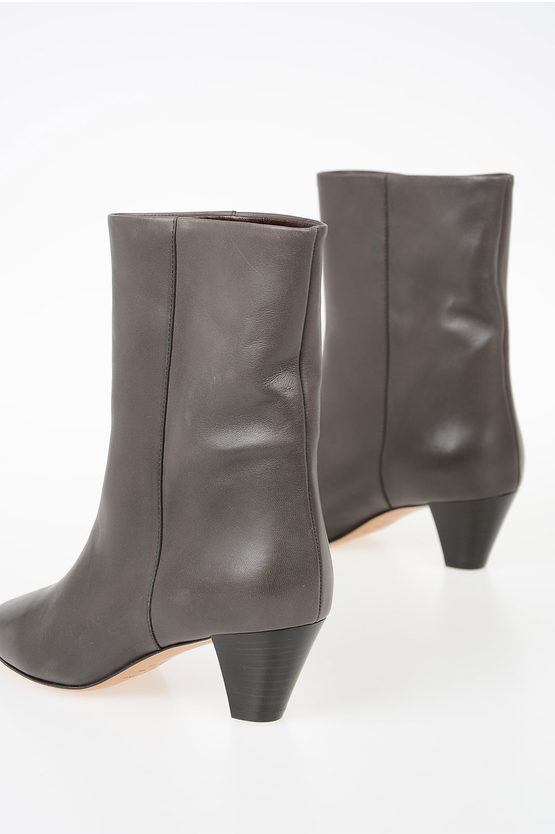 5.5 cm Leather DYNA Booties