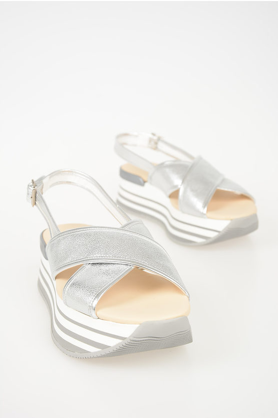 5,5cm Leather Sandals