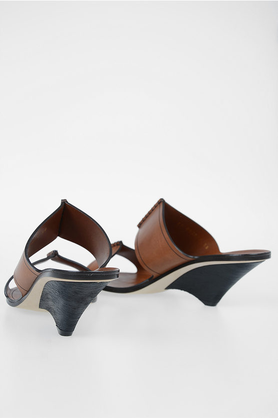 5 cm Leather SABA Mules