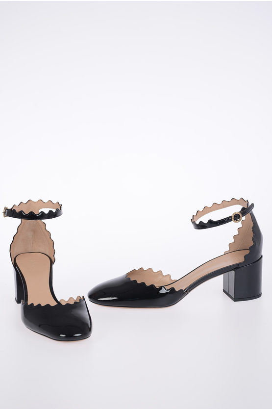 5 cm Patent Leather Heeled Shoes