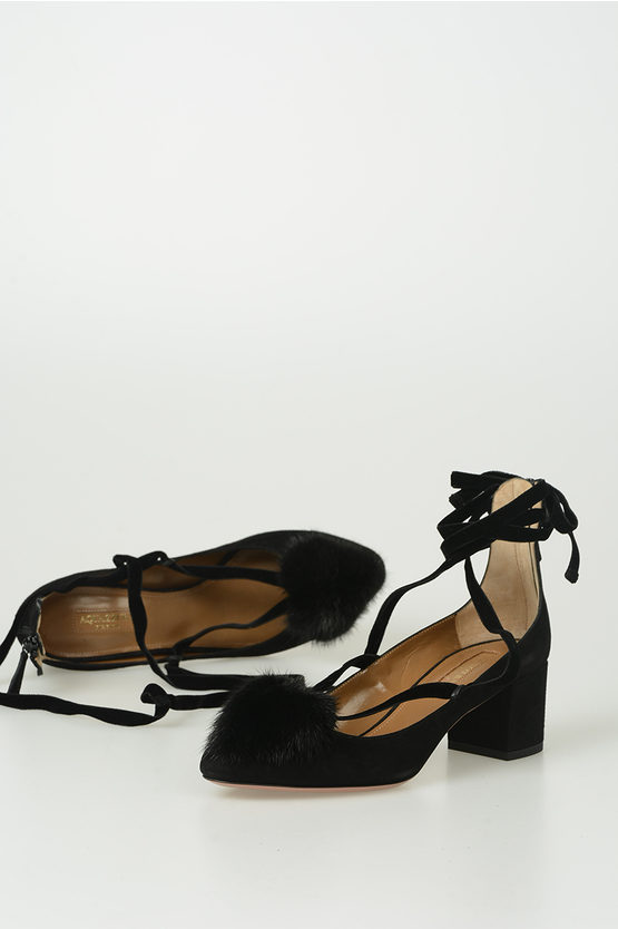 5m Suede Leather Sandal