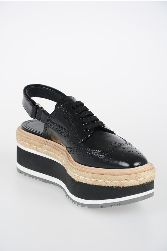 6.5 cm Derby Shoes with Platform