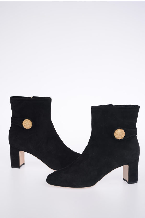 6.5 cm Suede VALLY Booties