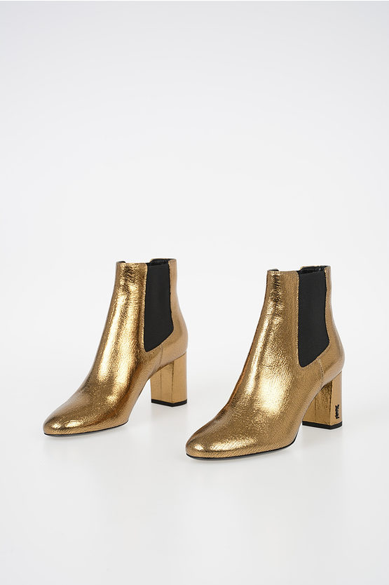 6cm Leather Ankle Boots