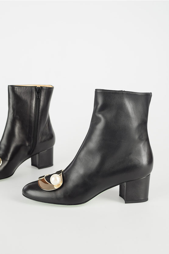 6cm Leather Boots