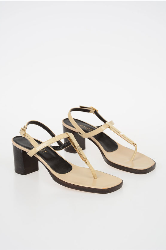 6cm Leather Sandal