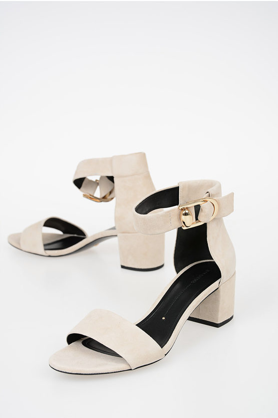 6cm Leather Sandals
