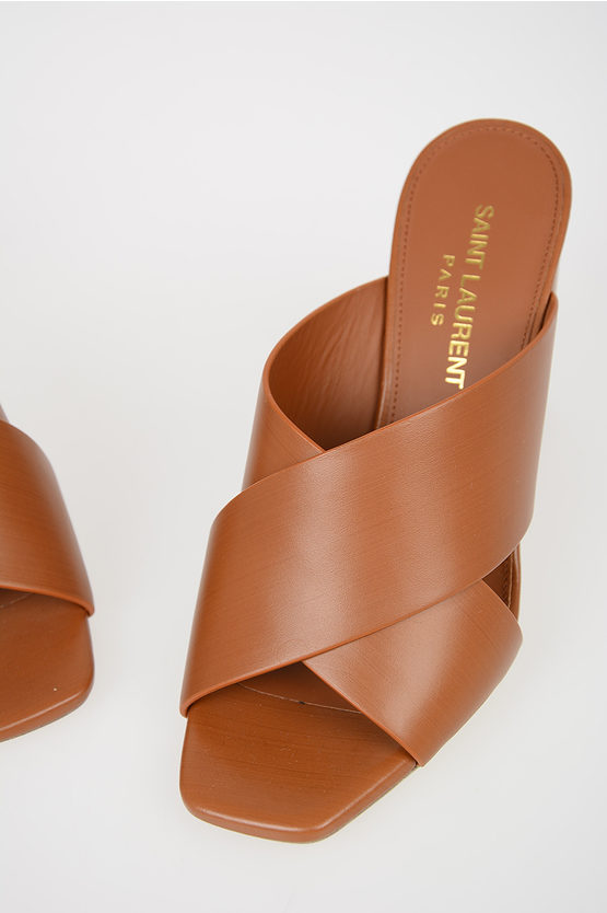 9 cm Leather LOULOU Mules