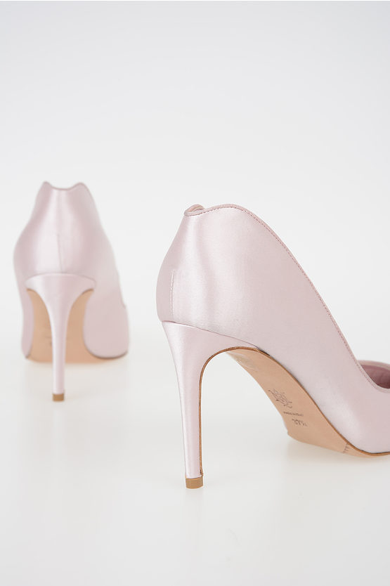 9 cm Satin Pumps