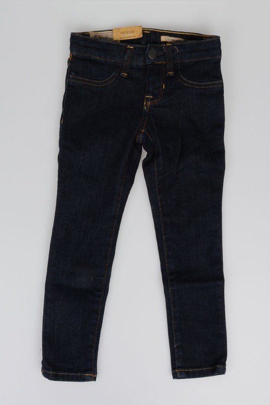 9 cm Stretch Cotton Denim Jeans